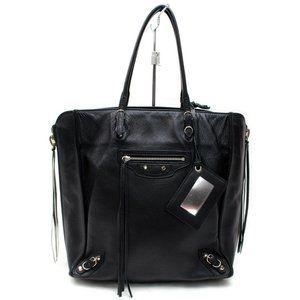 Auth Balenciaga The Papier Tote Bag #4266B27